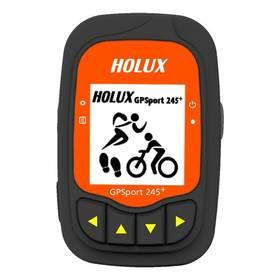 Holux GPSport 245 + Outdoor GPS computer (96130-30N) černá/oranžová