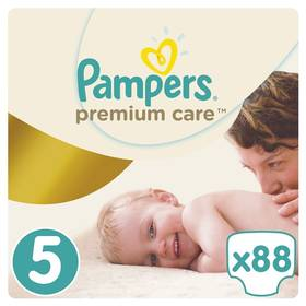 Pampers Premium Care Junior Mega Box vel. 5, 11-18kg, 88ks + Doprava zdarma