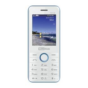 MaxCom Classic MM136 Dual SIM (MM136WH/BLDS) bílý/modrý