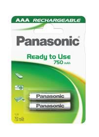 Panasonic Evolta AAA, HR03, 750mAh, blistr 2ks