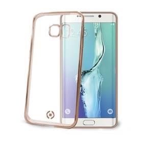 Celly Laser pro Samsung Galaxy S6 Edge (BCLS6EGD) zlatý