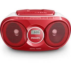 Philips AZ215R červený