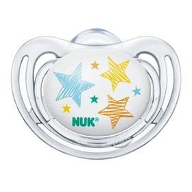 NUK FREESTYLE 0-6m, hvězdičky modré/růžové