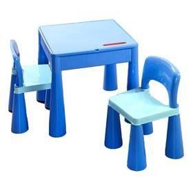 Cosing MAMUT plastový stoleček a 2 židličky modrý + Doprava zdarma