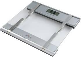Osobní váha Gallet PEP 633 stříbrná/sklo