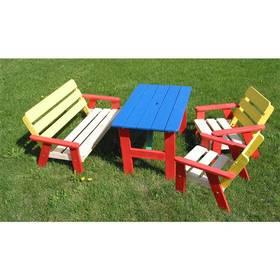 Dětský zahradní nábytek Rojaplast dětský KASIA