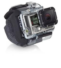 GoPro pro HERO3 kamery s uchycením na zápěstí (AHDWH-301) černé