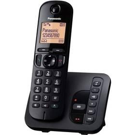 Panasonic KX-TGC220FXB  se záznamníkem (KX-TGC220FXB ) černý