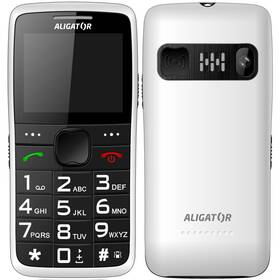 Aligator A675 Senior (A675WT) bílý