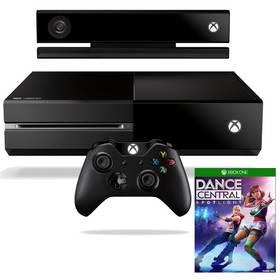 Microsoft Xbox One 500GB Kinect + hra Dance Central Spotlight (7UV-00114) černá + Doprava zdarma