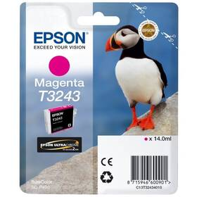 Epson T3243, 14 ml (C13T32434010) červená