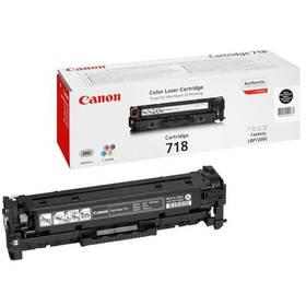 Canon CRG-718Bk, 3400 stran (2662B002) černý