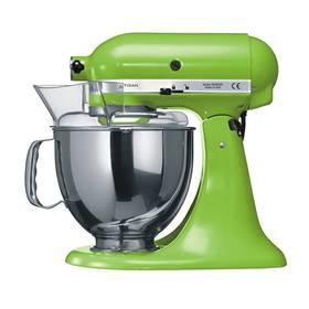 KitchenAid Artisan 5KSM150PSEGA zelený Příslušenství k robotu KitchenAid KB3SS nerezová mísa (3l) (zdarma)Příslušenství k robotu KitchenAid 5KFE5T plochý šlehač se stěrkou (zdarma) + Doprava zdarma