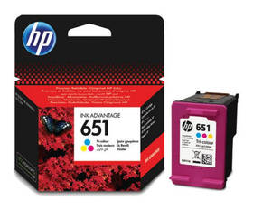 HP Cartridge HP 651, C2P11AE (C2P11AE)