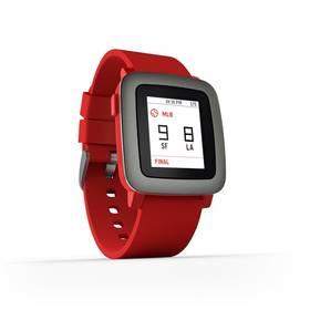 Pebble Time Smartwatch (501-00022) červená Dooble KIDS ADC Blacfire (zdarma) + Doprava zdarma