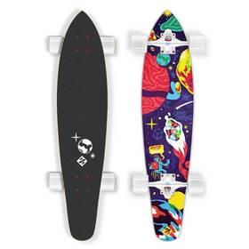 """Street Surfing Kicktail 36"""" Space bílý/červený/modrý + Doprava zdarma"""