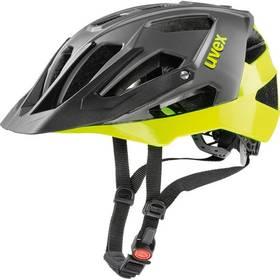 Uvex Quatro, vel.56-60cm - black/neon