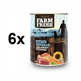 Farm Fresh Buffalo with Sweet potatoes 6 x 400 g