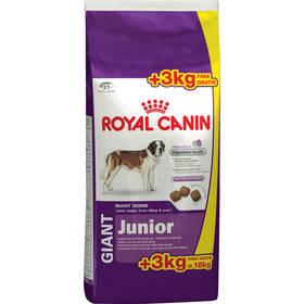 Royal Canin Giant Junior 15 + 3 kg ZDARMA + Doprava zdarma