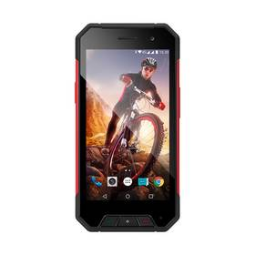 Evolveo STRONGPHONE Q7 LTE (SGP-Q7-LTE-R) černý SIM s kreditem T-mobile 200Kč Twist Online Internet (zdarma) + Doprava zdarma