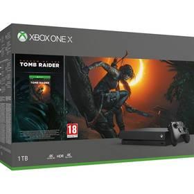 Microsoft Xbox One X 1 TB + Shadow of the Tomb Raider (CYV-00105)