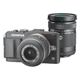 Olympus E-PL6 + objektivy 14-42mm II R + 40-150mm R černý + Doprava zdarma