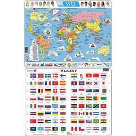 Larsen Mapa svět, Vlajky světa 2ks