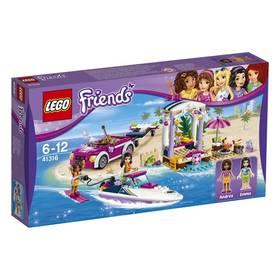 LEGO® FRIENDS® 41316 Andrein vůz s přívěsem pro člun