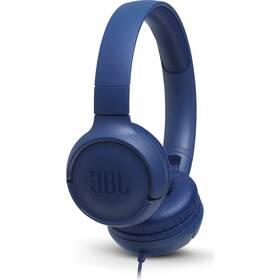 JBL Tune 500 modrá (vrácené zboží 8800856673)