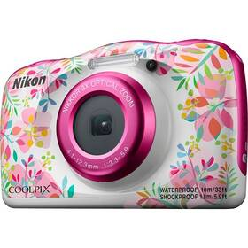 Nikon Coolpix W150 BACKPACK KIT biely/ružový
