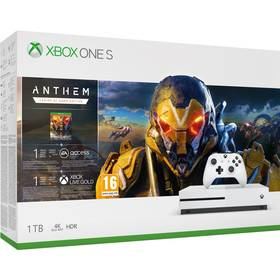 Microsoft Xbox One S 1 TB + Anthem: Legion of Dawn Edition (234-00947)