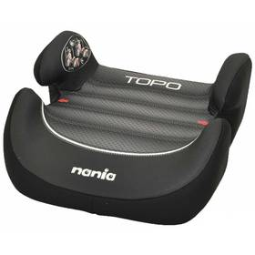 Nania Topo Comfort 2014 Graphic Black First 15-36 kg černá