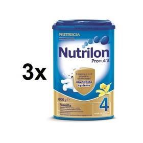 Nutrilon 4 Pronutra Vanilka, 800g x 3ks + DÁREK