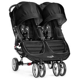 Baby Jogger CITY MINI Double 2016 Black/Gray + Doprava zdarma