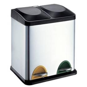 TORO 2 x 15 l černý/nerez Čistící přípravek na koupelny YOU 500 ml (zdarma)Sáčky do koše Brabantia 20L (F) Slimline, 20ks v roli (zdarma)