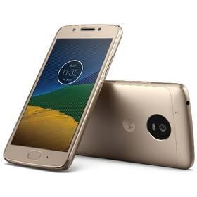 Motorola Moto G 5.generace Dual SIM (PA610040CZ) zlatý SIM s kreditem T-Mobile 200Kč Twist Online Internet (zdarma) + Doprava zdarma