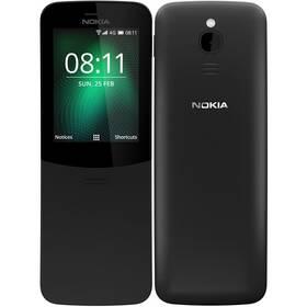 Nokia 8110 4G Dual SIM (16ARGB01A15) černý SIM s kreditem T-Mobile 200Kč Twist Online Internet (zdarma)