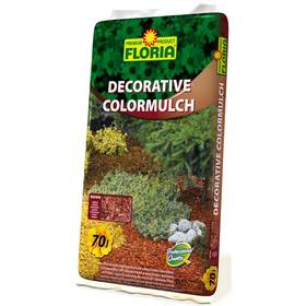 Dekorační kůra Agro FLORIA ColorMulch hnědá, 70 l