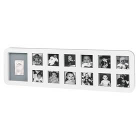 Baby Art Rámeček My First Year Print Frame White/Grey + Doprava zdarma