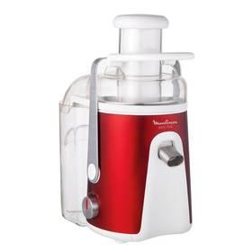 Odšťavovač Moulinex JU585G3E biely/červený (vrátený tovar 4300072187)