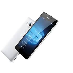 Microsoft Lumia 950 DS LTE (A00026406) bílý + dárek SIM s kreditem T-mobile 200Kč Twist Online Internet (zdarma)+ Voucher na skin Skinzone pro Mobil CZ v hodnotě 399 Kč jako dárek + Doprava zdarma