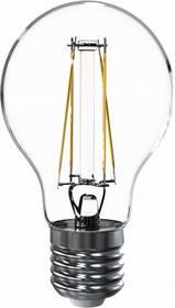 LED žiarovka Tesla Crystal Retro klasik, 6,5W, E27, teplá bílá