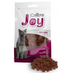 Pochúťka Calibra Joy Cat Duck Cubes 70g