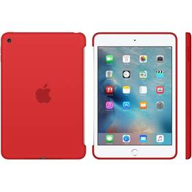Apple Silicone Case pro iPad mini 4 - červené (MKLN2ZM/A)