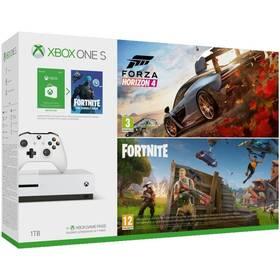 Microsoft Xbox One S 1 TB + Forza Horizon + Fortnite (MSOH00098)