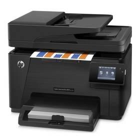 Tlačiareň multifunkčná HP Color LaserJet Professional M177fw (CZ165A#B19) čierna