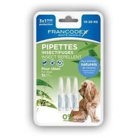 Pipeta Francodex repelentní střední pes 3 x 2 ml