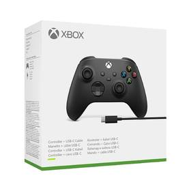 Microsoft Wireless pro Xbox + kabel pro Windows (1V8-00002)