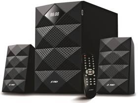 Fenda F&D A180X 2.1, bluetooth, USB, SD, FM (A180X) černé