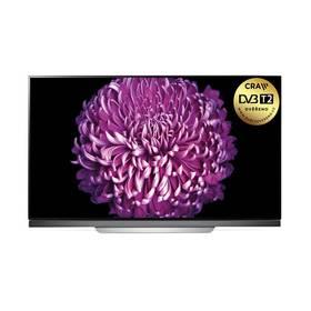 LG OLED65E7V stříbrná + při nákupu OLED televize LG až 8 000 Kč + Doprava zdarma